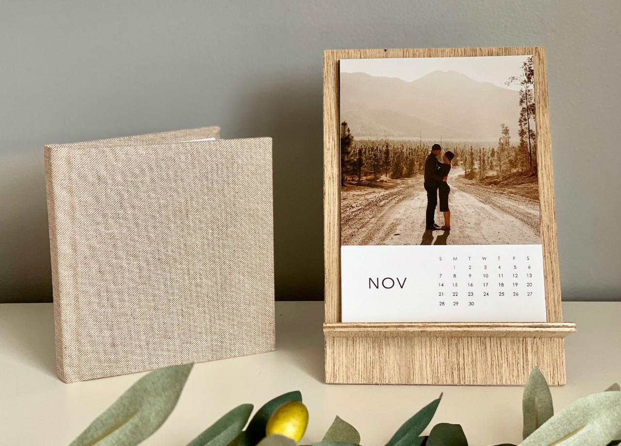 7x5 Timber Calendar